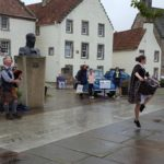 Neil playing for Kayleigh at Culross