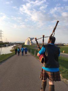Parkinson's Scotland at the Kelpies